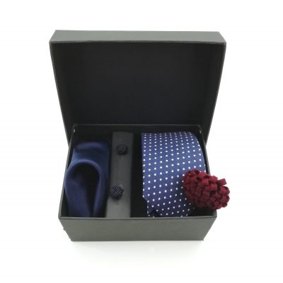 "Accessoirebox Krawatte blau ""New York Style"""