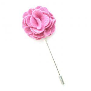 Pin Anstecknadel rosa Blume