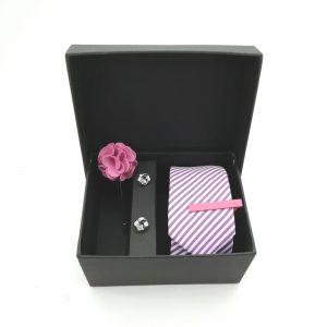 """Accessoirebox Krawatte pink """"Vienna Style"""""""
