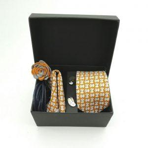 """Accessoirebox Krawatte ocker """"Beijing Style"""""""