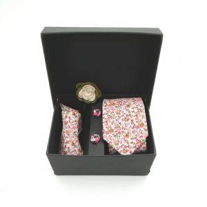 "Accessoirebox Krawatte pink ""Tokyo Style"""