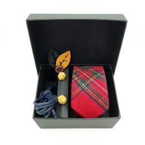 "Accessoirebox Krawatte rot ""Toronto Style"""
