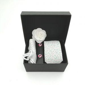 "Accessoirebox Krawatte weiß ""Rom Style"""