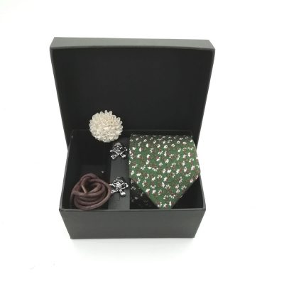 "Accessoirebox Krawatte grün""Berlin Style"""
