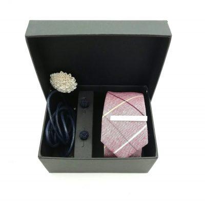 """Accessoirebox Krawatte rot """"Vintage Swing"""""""