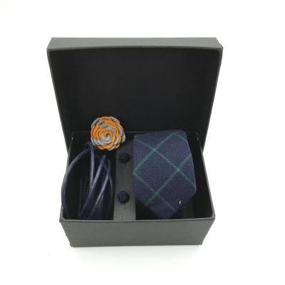 "Accessoirebox Krawatte blau ""Vintage Blue"""