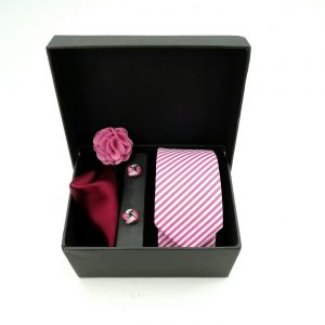 "Accessoirebox Krawatte pink ""Rio Style"""