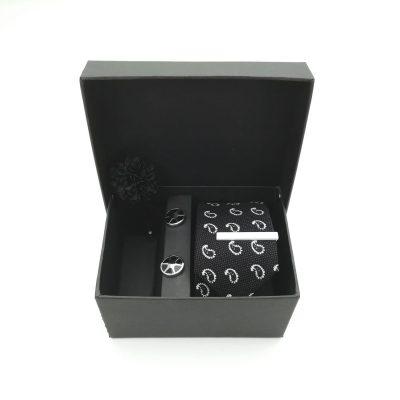 """Accessoirebox Krawatte schwarz """"Casual Mystery"""""""