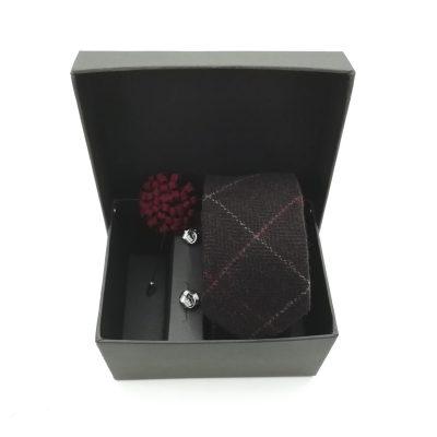 "Accessoirebox Krawatte braun ""Vintage Brown"""