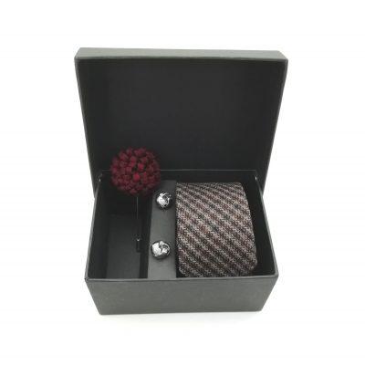 "Accessoirebox Krawatte braun ""Vintage Harmony"""
