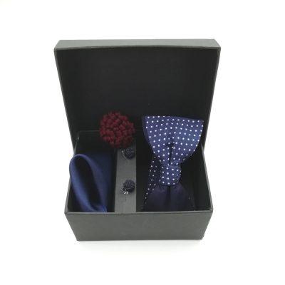 "Accessoirebox Fliege blau ""New York Style"""