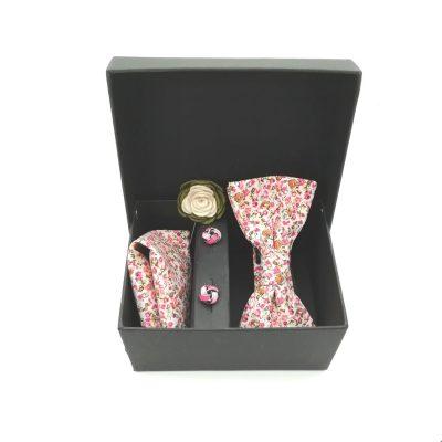 """Accessoirebox Fliege pink """"Tokyo Style"""""""