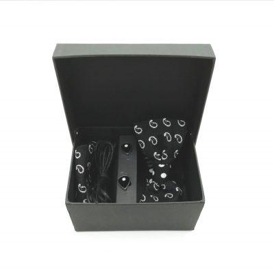 "Accessoirebox Fliege schwarz ""London Style """