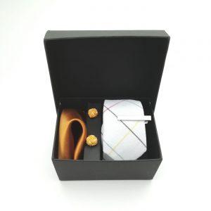 "Accessoirebox Krawatte weiß ""Dubai Style"""