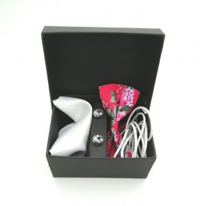 "Accessoirebox Fliege pink ""Piña-Colada"""