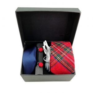 "Accessoirebox Krawatte rot ""Oslo Style"""