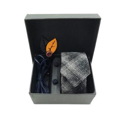 """Accessoirebox Krawatte grau """"Vintage Elegance"""""""