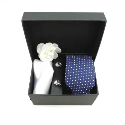 "Accessoirebox Krawatte blau ""Moscow Style"""