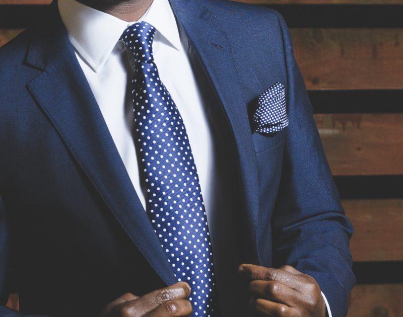 Canva - Blue Business Suit